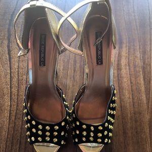 Women's Shoe Republic LA Stiletto/sandal size 9